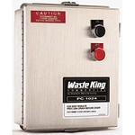 Waste King 1024 Waterproof NEMA 4 Enclosure Dual Voltage 230/440 Volts 50/60 Hz