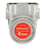 Procon 103A035F31XX 3/8 inch NPT Port Clamp-on 35 GPH Stainless Steel Pump