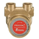 Procon 112A080F11XX 3/8 inch NPT Port Clamp-on 80 GPH NSF Brass Pump