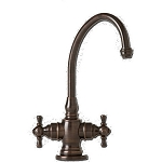Waterstone 1250HC Williamsburg Chrome Hot/Cold Faucet