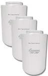 Amana 12527304 Refrigerator Water Filter - Clean 'n Clear WF401 - 3 Pack