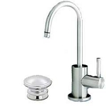 Waterstone 1400 Parche Chrome Cold Faucet