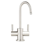 Waterstone 1400HC Parche Satin Chrome Hot/Cold Faucet