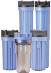 Pentek 150470 Hepp 10 Big Blue Filter Housing with 3/4 Caps without PR