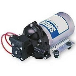 Shurflo 2088-594-144 115VAC 3.0GPM 1/2 inch MPT 2088 Series Delivery Pump with Chord