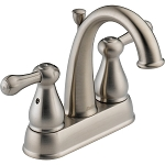 Delta 2575LF-SS Leland Two Handle Centerset Lavatory Faucet Stainless Finish