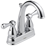 Delta 2575LF Leland Two Handle Centerset Lavatory Faucet Chrome Finish