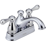 Delta 2578LF-278 Leland Two Handle Centerset Lavatory Faucet Chrome Finish