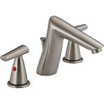 Delta 3582LF-SSMPU Rizu Two Handle Widespread Lavatory Faucet Stainless Finish