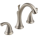Delta 3592LF-SS Addison Two Handle Widespread Lavatory Faucet Stainless Finish
