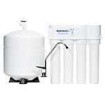 Hydrotech 4VTFC75G-PB 4 Stage 75 GPD Reverse Osmosis Systems with Push Button Monitor