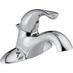 Delta 520-DST Classic Single Handle Centerset Lavatory Faucet Chrome Finish
