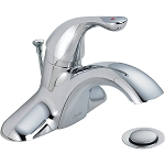 Delta 520LF-HDF Classic Single Handle Centerset Lavatory Faucet Chrome Finish