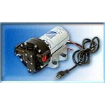 Aquatec 5511-1E12-B638 3.35 GPM 60 PSI 1/2 inch NPT 12VDC Super Flow Delivery/Demand Pump without Cord