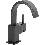 Delta 553LF-RB Vero Single Handle Centerset Lavatory Faucet Venetian Bronze Finish