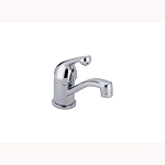 Delta 570-WF Single Handle Centerset Specialty Faucet - Less Pop-Up Chrome Finish