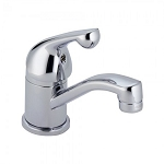 Delta 570 Single Handle Centerset Specialty Faucet - Less Pop-Up Chrome Finish