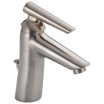 Delta 582LF-SSWFMPU Rizu Single Handle Centerset Lavatory Faucet Stainless Finish