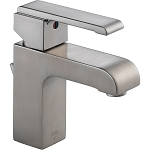 Delta 586LF-SSMPU Arzo Single Handle Centerset Lavatory Faucet Stainless Finish