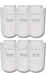 Amana 12527304 Refrigerator Water Filter - Clean 'n Clear WF401 - 6 Pack