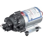 Shurflo 8005-791-255 230VAC 1.2GPM 3/8 inch FPT 8000 Series Delivery Pump without Chord