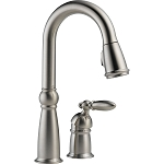 Delta 9955-SS-DST Victorian Single Handle Bar-Prep Faucet Stainless Finish