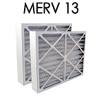 Space Gard 20x25x6 Furnace Filter MERV 13 2 Pack