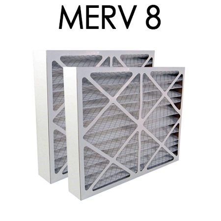 Honeywell 20x25x5 Furnace Filter Merv 8 2 Pack