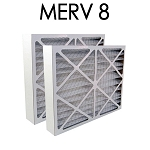 Air Bear 20x25x5 Furnace Compatible Filter MERV 8 2 Pack