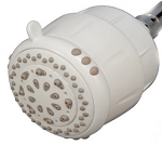 Sprite PureSpray 5 Setting AM5-WH Filtered Shower Head with SLC Cartridge - White