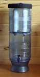 "Berkey Light 2.75 Gal Water Purifier with four 9"" Ceramic Filters"