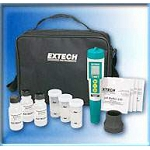 Extech EC500-CL Exstik 6 in 1 Chlorine/pH/EC/TDS/Salinity/Temperature Kit