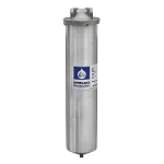 "Shelco 20"" 304L Stainless Steel Full Flow/BB Single Cartridge Housing with 1-1/2"" Ports"