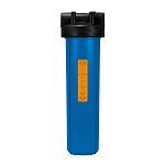 Kemflo FW10000BL1 Heavy Duty Blue Filter Housing for Full Flow/BB 20 inch � 4 1/2 inch Cartridge with 1 inch Port