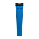 Kemflo FW8000BL34PR Heavy Duty Blue Filter Housing for 20 inch x 2 1/2 inch Cartridge with 3/4 inch Port and Pressure Release