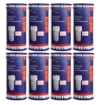 FXHSC GE SmartWater Whole House Sediment Filter Replacement Cartridge - 8 Pack