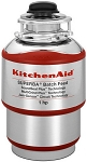 KitchenAid KBDS100T Batch Feed 1HP Garbage Disposal