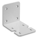 MB-25 Single Mounting Bracket for 5000 and 10000 Housing White Steel