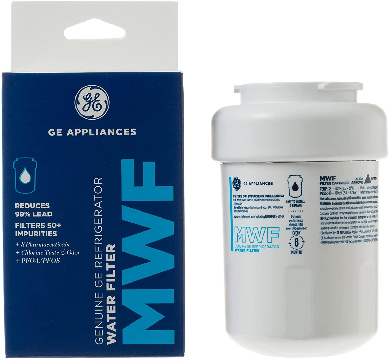 ge mwf smartwater refrigerator replacement water filter cartridge. Black Bedroom Furniture Sets. Home Design Ideas