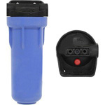 Pentek 150574 Standard Black/Blue 3/4 inch Filter Housing