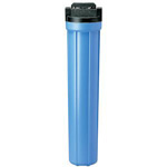 Pentek 150166 3/4 inch Blue 20 inch Valve-In-Head Filter Housing