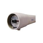 "Protec PRO-8-1200-SP-3 8"" x 120"" FRP 1200 PSI SP 1.5V Protec Membrane Housing"