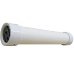 "PVC PV-4021NS 4.0"" x 21"" PVC U-PIN - 1/2"" PORT Membrane Housing"