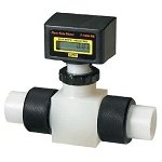 Blue-White RB-150PI-GPM4 2-20 GPM Rate Meter 1.5 FPT F-1000 Digital Inline Flowmeter