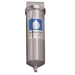 Shelco RHS-80 316L Stainless Steel 20 inch Single Cartridge Housing