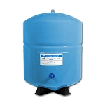 RO-132-B-14 - 3.2 Gallon Stainless Steel Bladder Tank - Blue