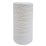 1 Micron Polypropylene String Wound Sediment Filter - 4.5 x 10