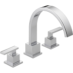 Delta T2753 Vero Roman Tub Trim Chrome Finish