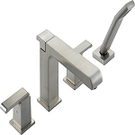 Delta T4786-SS Arzo Roman Tub with Handshower Trim Stainless Finish