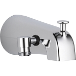 Delta U1072-PK Universal Showering Components Diverter Tub Spout Chrome Finish